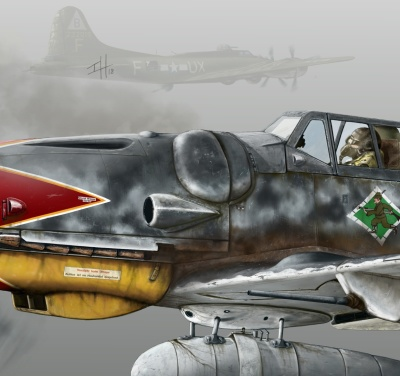 Me 109 G6 special profile N01
